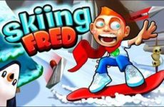 Skiing Fred игра