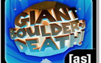 Игра Giant boulder of death