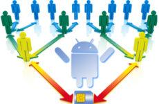Как создать группу контактов в андроид